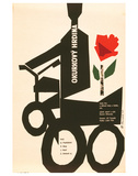 The Cucumber Hero-Okurkovy Premium Giclee Print