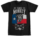 Gas Monkey- Lone Star Shirts