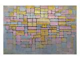 Tableau No. 2 Affiches par Piet Mondrian