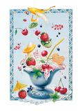 Yogurt Fruit Salad Art by Renate Holzner