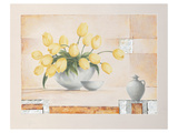 Yellow Beauty Print by Renate Holzner