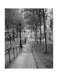 Montmartre Steps 2 - Paris, France Photographic Print by Henri Silberman