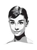 Audrey Giclée-vedos tekijänä Emily Gray