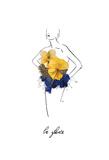 Floral Fashion Poster di Victoria Brown