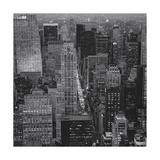 Fifth Avenue, North View, Evening - New York City Top View Photographic Print by Henri Silberman