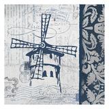 Navy Moulin Affiches par Carole Stevens