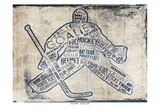 Hockey Type Print by Jace Grey