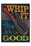 Chalkboard Kitchen Art 1 Posters tekijänä Melody Hogan
