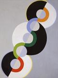 Endless Rhythm Giclee-trykk av Robert Delaunay
