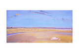 The Sands at Dymchurch Giclée-tryk af Charles Sims