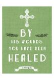 By His Wounds Poster por Sheldon Lewis
