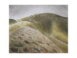 The Vale of the White Horse Giclee-trykk av Eric Ravilious