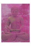 Buddha Meditate Pôsteres por Sheldon Lewis