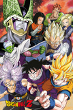Dragonball Z- Cell Saga Kunstdruck
