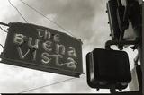 Buena Vista Sign 2 Opspændt lærredstryk af Christian Peacock
