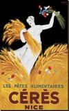 Ceres Nice キャンバスプリント : ビンテージポスター
