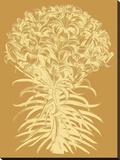 Lilies 20 Toile tendue sur châssis par  Botanical Series