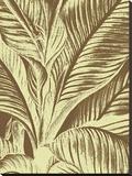 Leaf 3 Toile tendue sur châssis par  Botanical Series