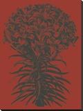 Lilies 9 Toile tendue sur châssis par  Botanical Series