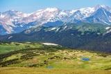 Colorado Rocky Mountains Reproduction photographique par  duallogic