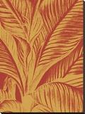 Leaf 16 Toile tendue sur châssis par  Botanical Series