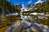 Dream Lake at the Rocky Mountain National Park, Colorado, USA Fotografisk tryk af Nataliya Hora