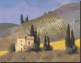 Panzano Impressão em tela esticada por William Buffett