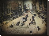 Old New York Reproducción de lámina sobre lienzo por Dawne Polis