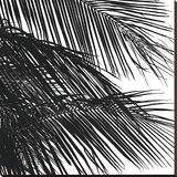 Palms 4 (detail) Bedruckte aufgespannte Leinwand von Jamie Kingham