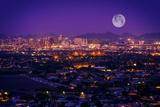 Phoenix Arizona Skyline Reproduction photographique par  duallogic