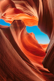Lower Antelope Canyon, Arizona Reproduction photographique par  lucky-photographer