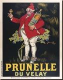 Prunelle du Velay キャンバスプリント : ビンテージポスター