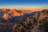 Grand Canyon at Sunset, Arizona Stampa fotografica di  lucky-photographer