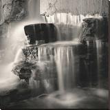 Waterfall, Study 1 Impressão em tela esticada por Andrew Ren