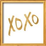 Romantic Icon I (gold foil) Posters