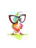 Smart Ass Premium Giclee Print by  okalinichenko