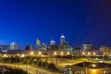 Indianapolis Downtown, Indiana, Usa Fotografisk trykk av  Sopotniccy