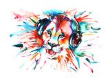 Lion Reproduction giclée Premium par  okalinichenko