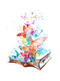 Fairy Book Affiches par  okalinichenko