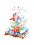 Fairy Book Premium gicléedruk van  okalinichenko