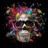 Skull in Glasses Posters by  reznik_val