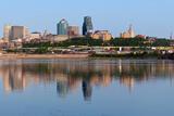 Kansas City Skyline Panorama. Fotografisk trykk av  rudi1976