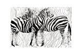 Zebras Kunst von  okalinichenko