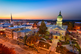Dontown Athens Georgia Lámina fotográfica por  SeanPavonePhoto