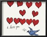 I Love You So, c. 1958 Kunstdruck von Andy Warhol