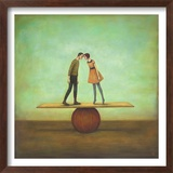 Finding Equilibrium Poster von Duy Huynh
