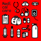 MEDICAL CARE Print by  giantapplelim