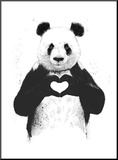 All You Need Is Love Mounted Print by Balazs Solti