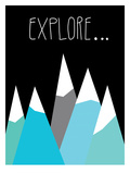 Explore Giclee Print by Ashlee Rae