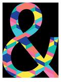 Amperstand on Black Poster by Ashlee Rae